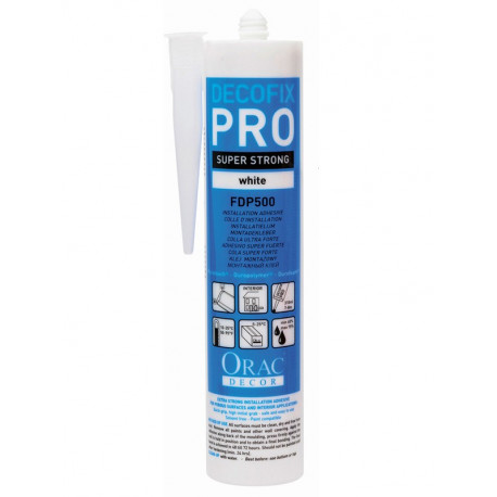 Colle Decofix Pro pour moulures 310ml - ORAC DECOR