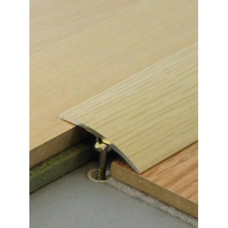 2,70mx41mm - Barre de seuil finition bois - fixation invisible multi-niveaux plaxés Harmony - DINAC