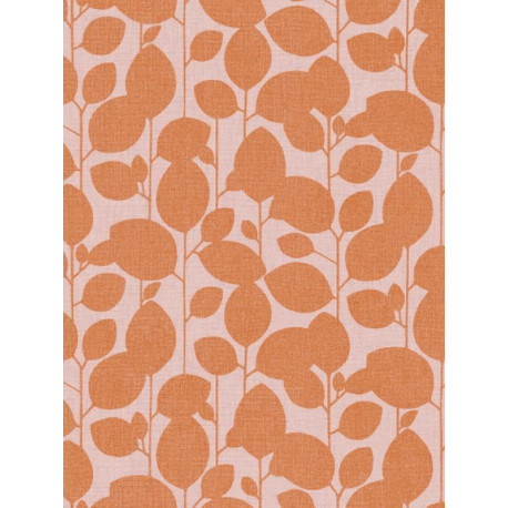 Papier peint Branchage orange - SWING - Caselio - SNG68933377
