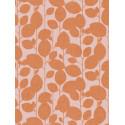 Papier peint à motif Branchage orange - SWING - Caselio