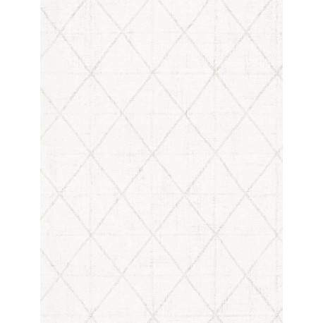 Papier peint Losange blanc - SCANDINAVIAN STYLE - AS Creation - 341377