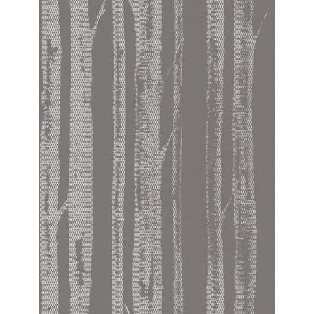 Papier peint intissé natural lace blanc/argent- AS CREATION