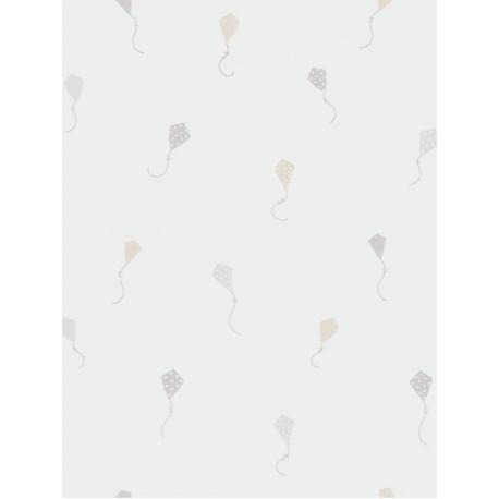 Papier peint intissé enfant à motif Cerfs Volants beige - MY LITTLE WORLD Caselio