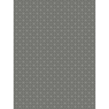 Papier peint Carré gris anthracite - TONIC - Caselio - TONI69459707