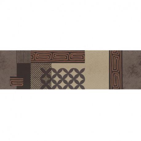 Frise adhésive Ethnique marron - Lutèce - 27150708-A