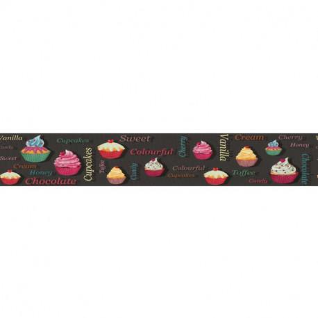 Frise adhésive Cupcakes - Lutèce - 27151308-A