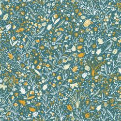 Papier peint 1001 pattes turquoise - Smile - Caselio