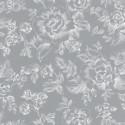 Papier peint A Fleurs De Peau gris  - SMILE - Caselio - SMIL69849832
