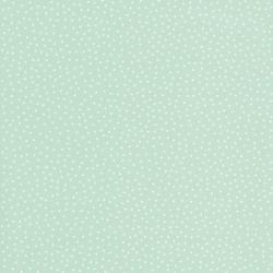 Papier peint les p'tits pois vert d'eau  - Smile - Caselio