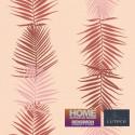 Papier peint FEUILLE PALME ROSE - Bensimon - Lutèce