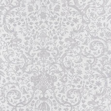 Papier peint ORSAY gris - Signature - Casadeco