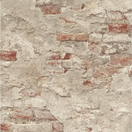 Papier peint mur de brique - Factory III - Rasch