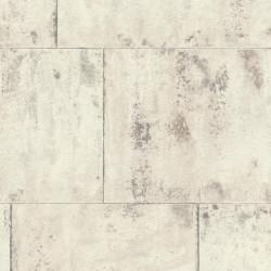 Papier peint métal blanc  - Factory III - Rasch