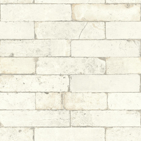 Papier peint imitation briques  - Factory III - Rasch
