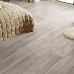 Revêtement PVC - Largeur 4m - Exclusive 300 CONCEPT SEASONS - Tarkett - Imitation parquet gris beige - Admiral Grege