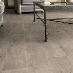 Revêtement PVC LEGACY chêne gris clair - Largeur 4m - Exclusive 240 concept Heritage - imitation parquet - Tarkett