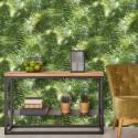 Papier peint intissé Jungle tropical feuilles de palmier vert - PS International by Erismann