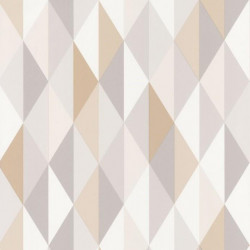 Papier peint Diamond Beige – SPACES – Caselio