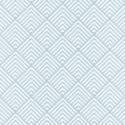 Papier peint Pyramid Triangles Bleu – SPACES – Caselio