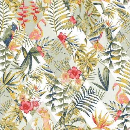 Papier peint Paradise vert - JUNGLE - Caselio - JUN100067434