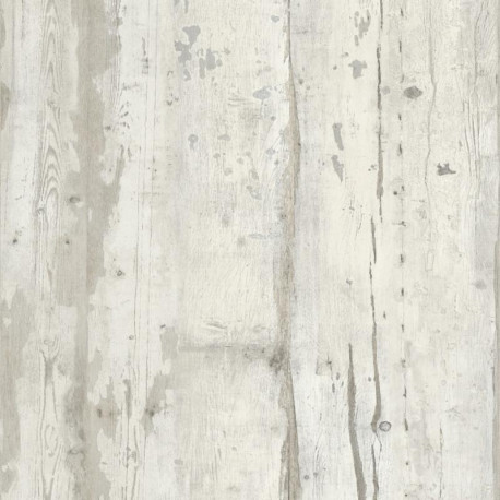 Papier peint Effet bois gris beige vintage - FAUX SEMBLANT - Ugepa - L10917