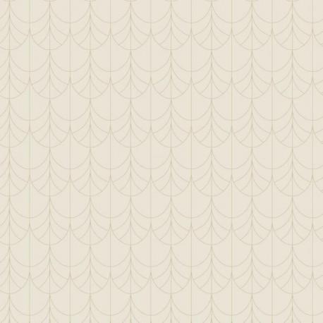 Papier peint intissé FILAMENT beige - Belle Epoque Casadeco