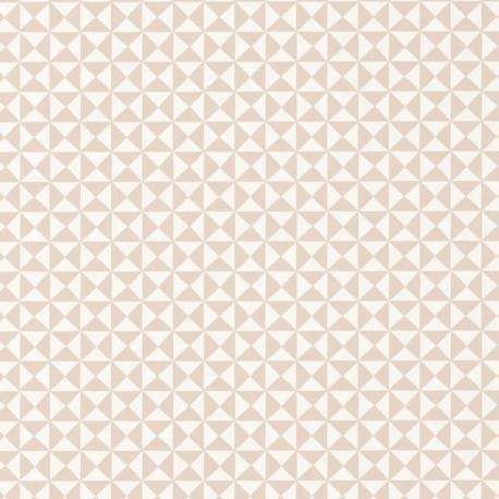 Papier peint Géométrique beige - HAPPY DREAMS - Casadeco - HPDM82786119