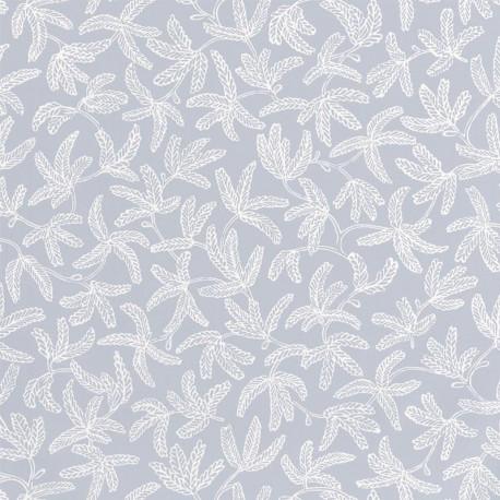Papier peint COCOON gris doux- HYGGE- CASELIO