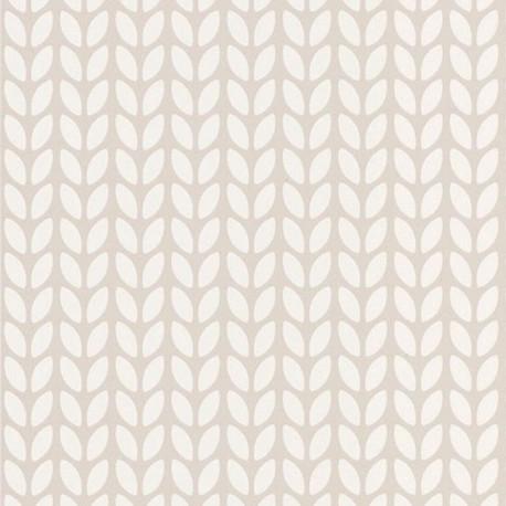 Papier peint SIMPLICITY beige -HYGGE- CASELIO