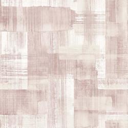 Papier peint TROSA rose - TERENCE CONRAN- LUTÈCE