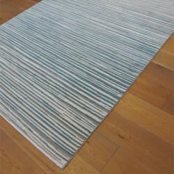 Tapis Lignes Scandi - gris et bleu - 160x230cm - ELLE - BALTA