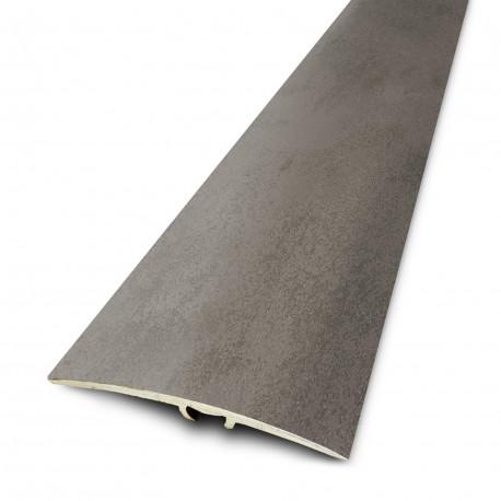 2,70mx41mm - Barre de seuil Finition minérale Béton - fixation invisible multi-niveaux plaxés Harmony  - DINAC