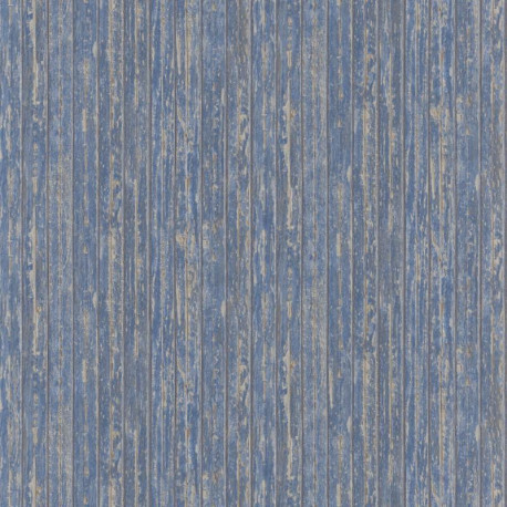 Papier peint intissé BORDAGE bleu - Collection RIVAGE - CASADECO