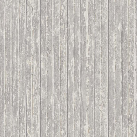 Papier peint intissé BORDAGE gris - Collection RIVAGE - CASADECO