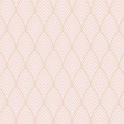 Papier peint vinyle sur intissé Bercy blush rose gold - Graham & Brown