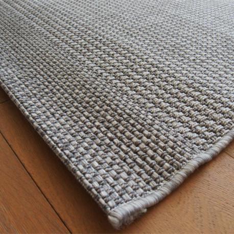 Tapis en cordes tressées grises - 160x230cm - INDY