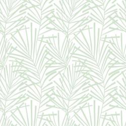Papier peint vinyle sur intissé AURA Palme Design Vert - GRAHAM & BROWN