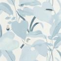 Papier peint Amazonia bleu doux et argent - L'ODYSSEE - Caselio - OYS101426215