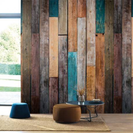 Panoramique WOOD COLOR marron - Beauty Full Image par Casadeco