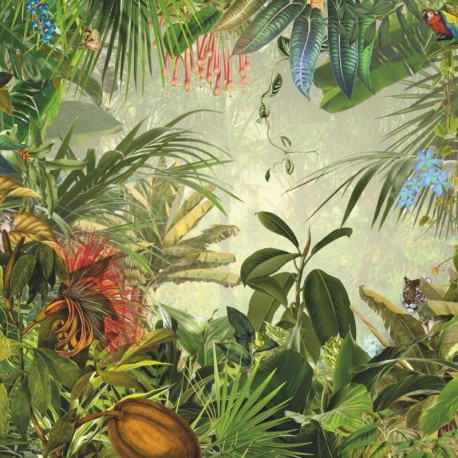 "Panoramique exotique intissé Poster XXL ""Into The Wild"" - Komar"