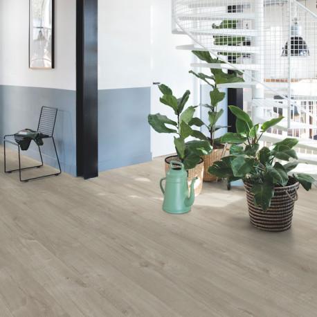 Quick Step - Lame PVC à clipser - Livyn Pulse Click - chêne coton gris chaleureux