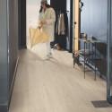 """QUICK STEP - Livyn Pulse Click - Lames PVC à clipser """"PUCL40080 chêne brise marine beige"""" (résistant)"""