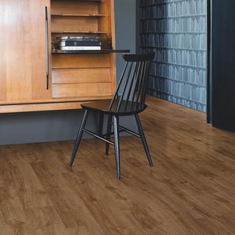 Quick Step - Lame PVC à clipser - Livyn Pulse Click - chêne automne marron