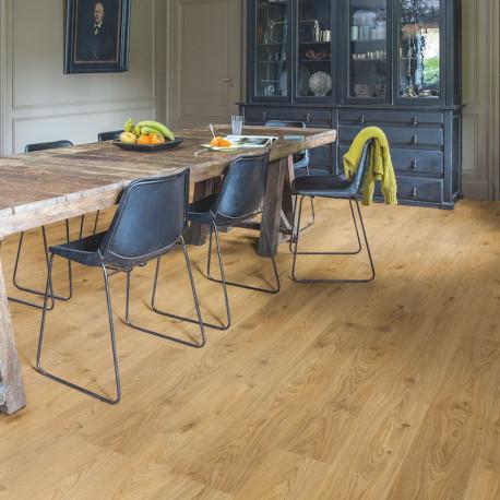 QUICK STEP - Lame PVC clipsable avec quatre chanfreins - Livyn Balance Click - chêne cottage naturel