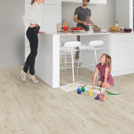 Lames Pvc Quick Step Livyn Balance Click Chene Canyon Beige
