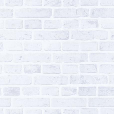 Papier peint plat du jour blanc noir - Au bistrot d'Alice - Caselio