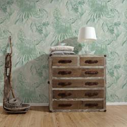 Papier peint palme vert 368202 - Greenery - AS CREATION