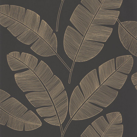 Papier peint Banana Tree Jaune -MOONLIGHT- Caselio MLG101102090