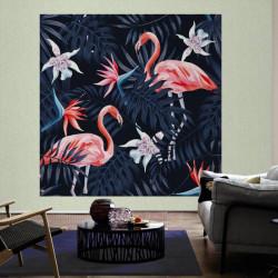 Panoramique Flamingo II -116613- Greenery - AS CREATION