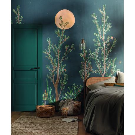 Panoramique Midnight Walk bleu nuit - GREEN LIFE - Caselio - GNL101666520